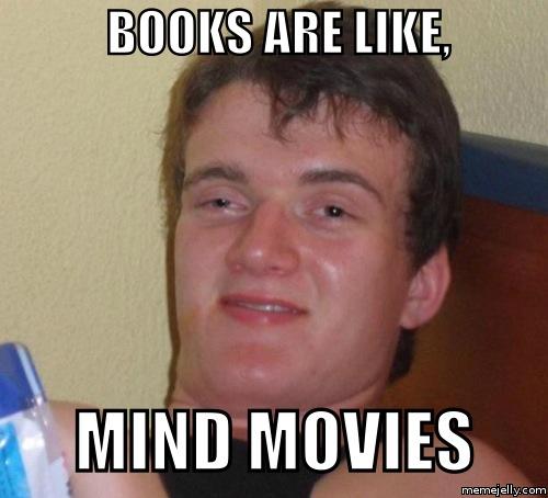Books Mind MOvies